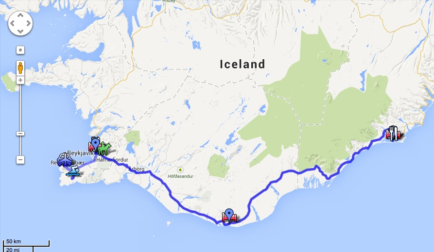 PipesDreams Travel - What is the latitude and longitude of iceland
